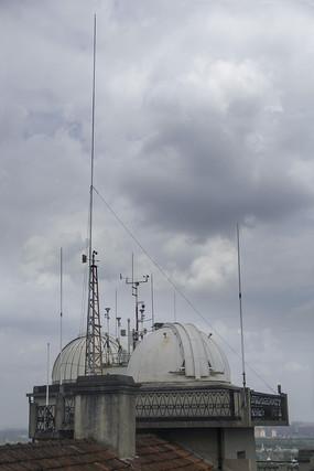 气象观测点拍摄