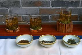 成都宽窄巷子-茶叶样品展示