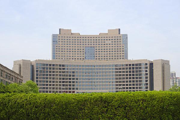青岛五四广场及市政府大楼