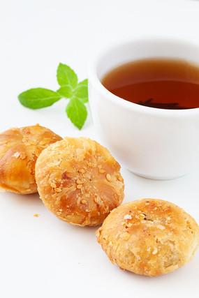传统食品安徽黄山特产郑记烧饼
