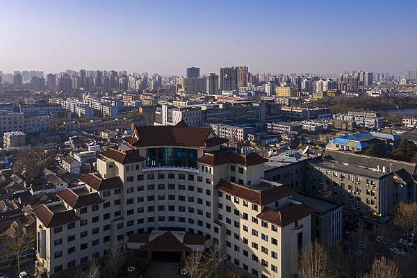山东省政府办公大楼图片