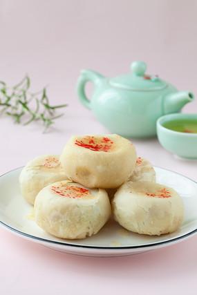 传统的陕西特产水晶饼