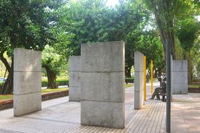 深圳深南大道街心花园雕塑广场