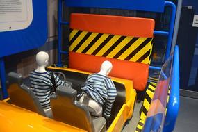 撞车安全带效果模拟