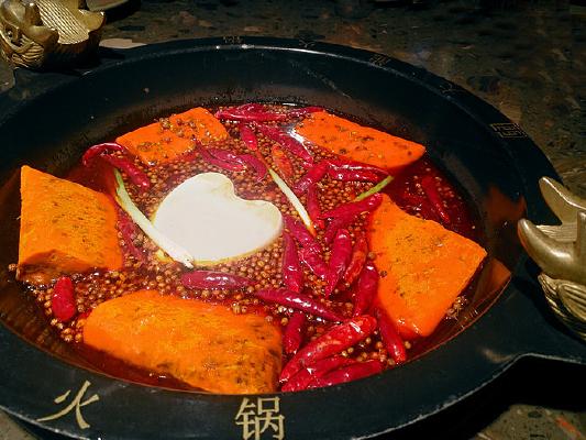 传统牛油重庆火锅