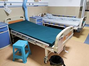 医院里没有人的病房