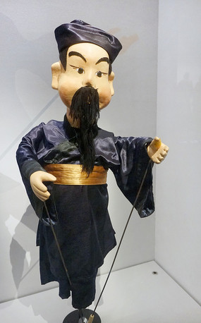 贵州小杖头木偶须生