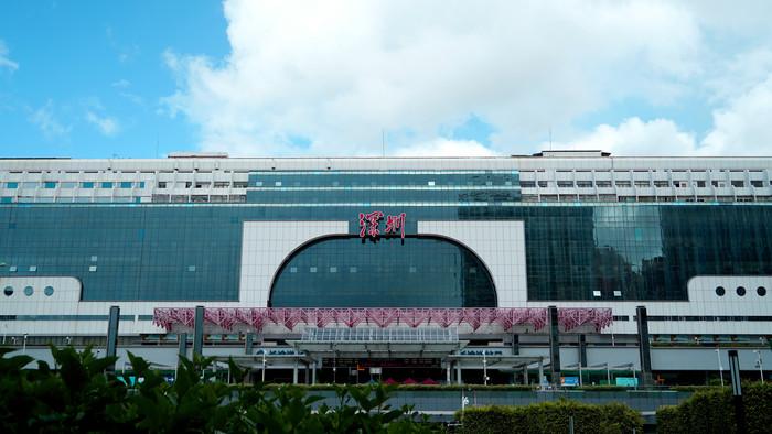 深圳火车站外景