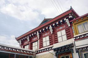 道孚县城藏族民居建筑