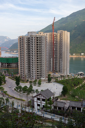 重庆巫山环境舒适的江景房
