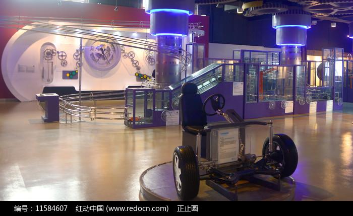 四川科技馆机械厅内景图片