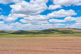自驾中的锡林郭勒草原