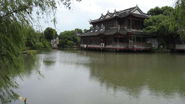上海韩湘园景观建筑