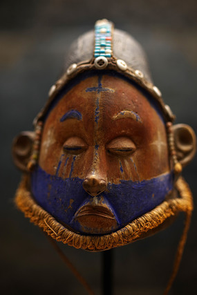 彩绘面具造型