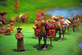 古代各民族间的贸易泥塑
