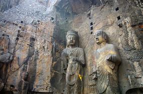 龙门奉先寺菩萨像