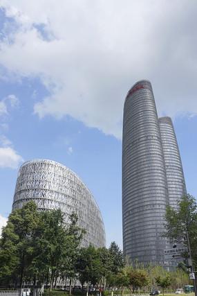四川成都金融城总部商务区