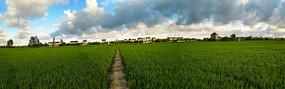 美丽乡野全景图