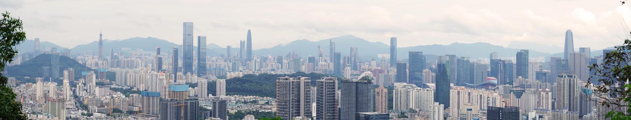 深圳高楼超宽图片