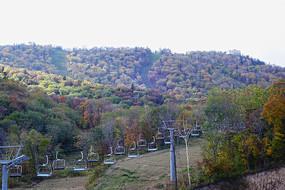 黑龙江亚布力景区滑雪场缆车
