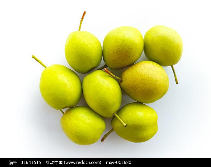 幾個完整的香梨圖片