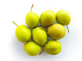 幾個完整的香梨