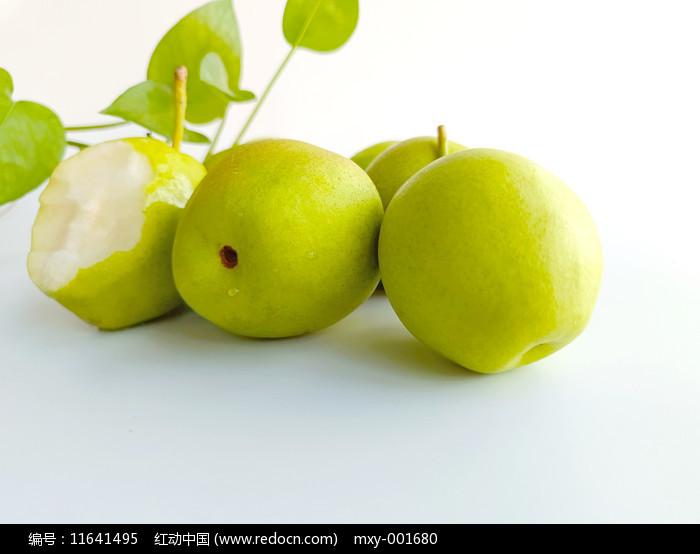 綠葉香梨圖片