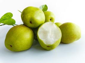 一堆脆梨香梨