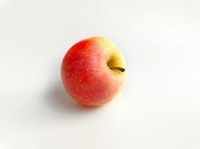 一个红苹果