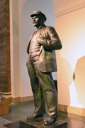德国历史博物馆展厅人物雕塑