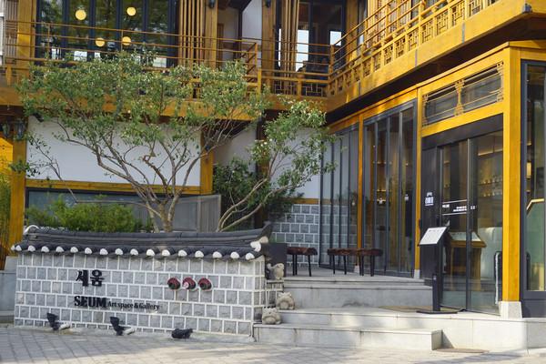韩国首尔三清洞文化街艺术长廊