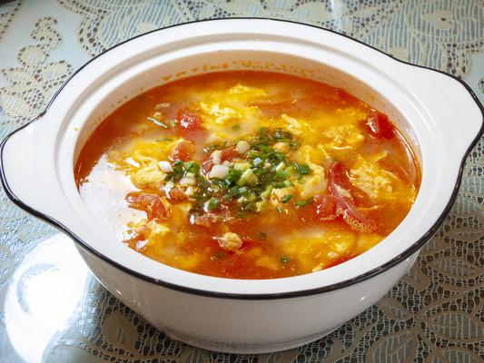 美味的番茄鸡蛋汤