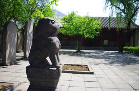 嵩阳书院石雕瑞兽