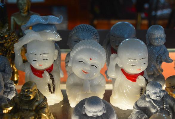 越南中央邮局旅游纪念品小沙弥