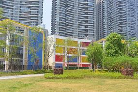 成都江滩公园的幼儿园