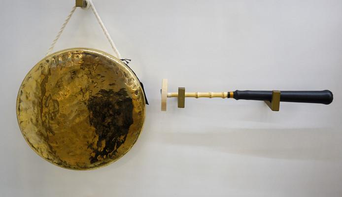 韩国传统乐器铜锣