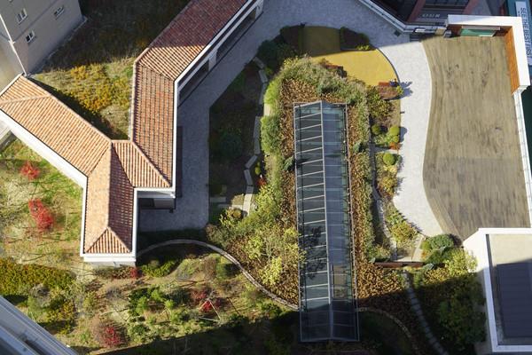 韩国水原光教湖公园园林景观
