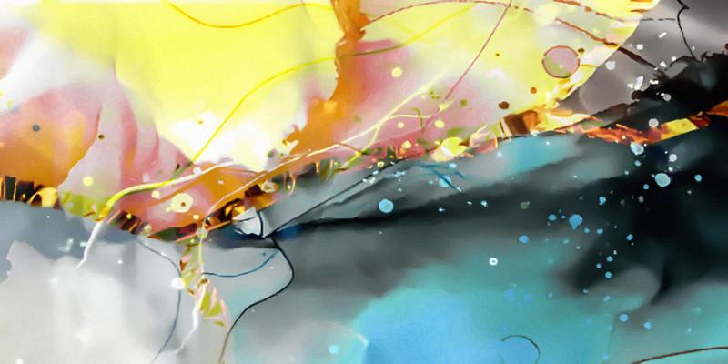 水墨艺术抽象画