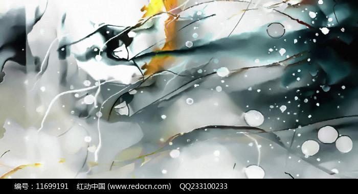 水墨装饰画图片