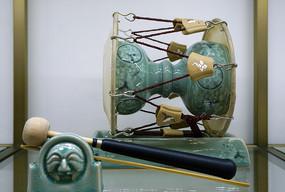 陶瓷工艺品杖鼓
