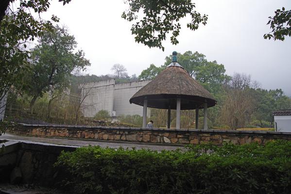 长沙岳麓书院景观亭