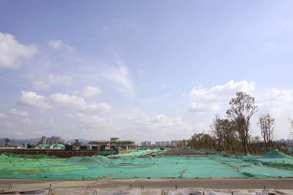 成都东安湖体育公园工程建设