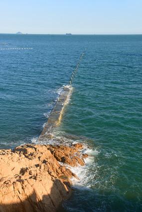 青岛太平湾防浪堤