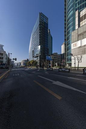 上海黄浦街景高清图片