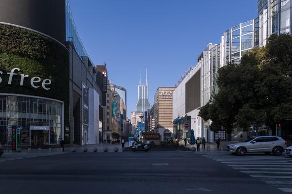 上海南京路图片