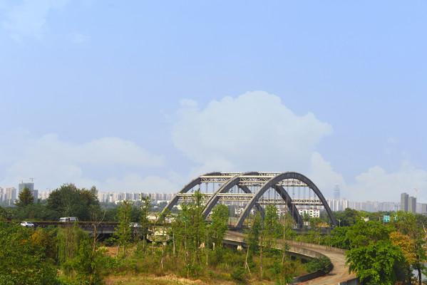 四川成都G4202府河大桥