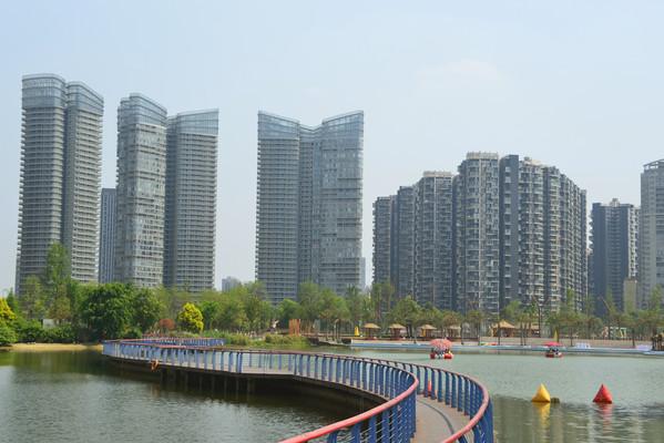 四川成都江滩公园