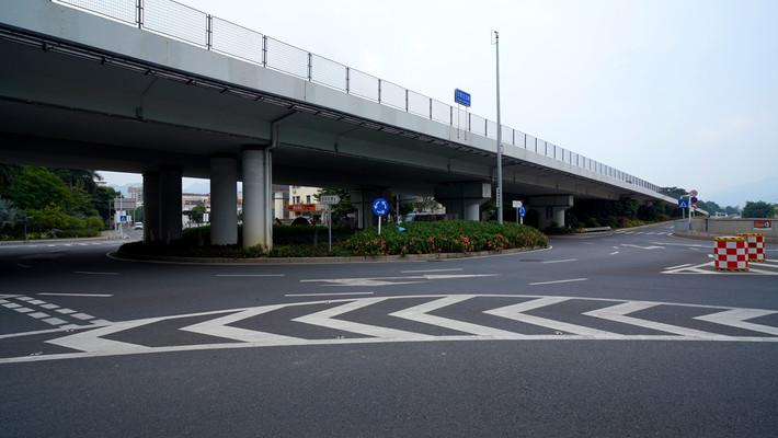 王母立交桥金沙大道坪西路大转盘道路交通