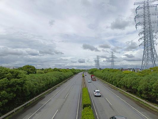 云海蓝天高速路