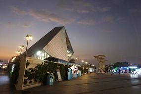 深圳欢乐海岸狂欢广场夜景